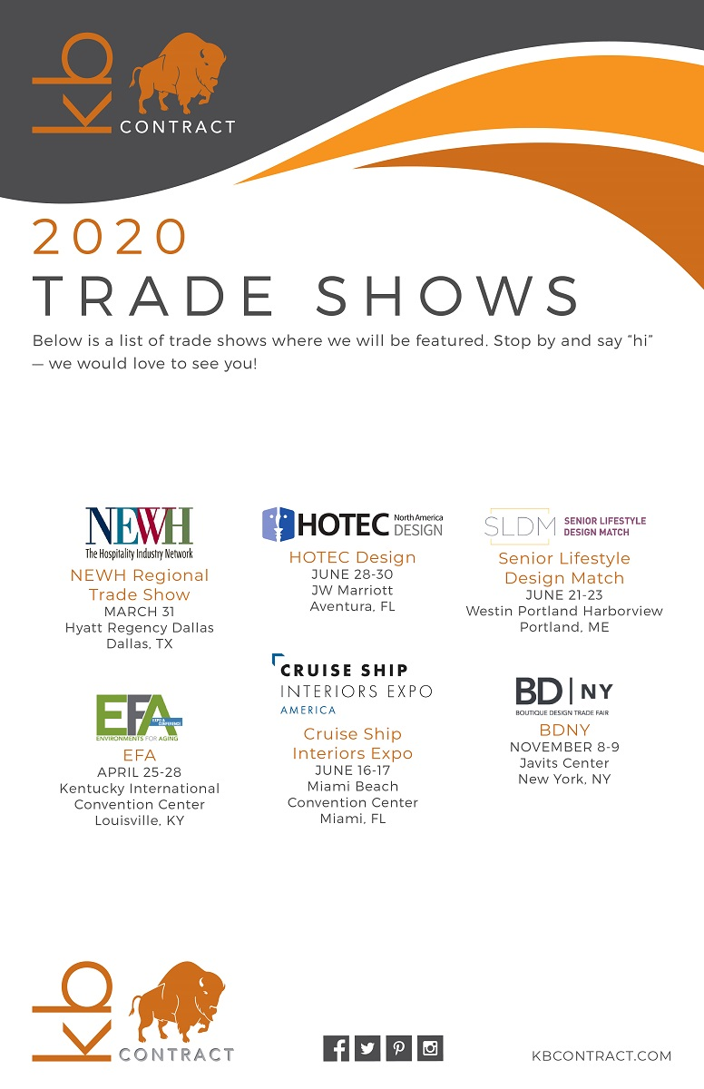 KB Contract Tradeshows 2020